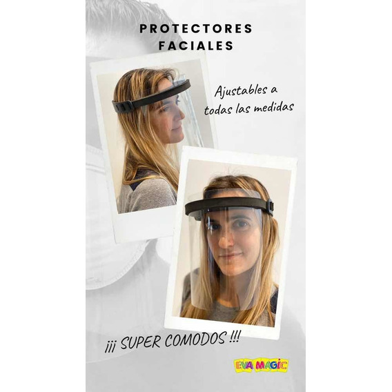 Máscara Protección Facial Barbijo Directo De Fábrica X 10