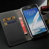 Funda Cartera Piel Flip Cover Samsung Galaxy Note 2 N7100