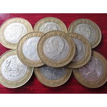 Moneda Plata 20 Nuevos Pesos Hidalgo 1993 Capsula De Regalo
