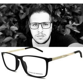 Armação Óculos Grau Masculino Porshe P8298 Original Acetato