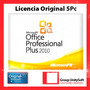 Licencia Original Office Professional Plus 2010 - 5pc