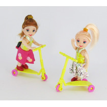 Kit 10 Boneca Estilo Kelly Irmã Barbie Lembrança Aniversário