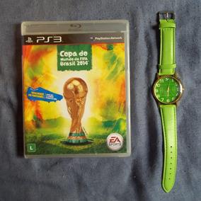 Game - Copa Do Mundo Da Fifa Brasil 2014 ( Ps3 ) + Brinde