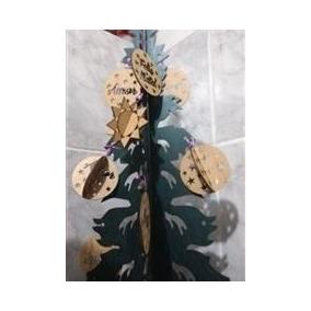 Kit Com 10 Bolas De Natal Personalizadas Em Mdf Guirlandas