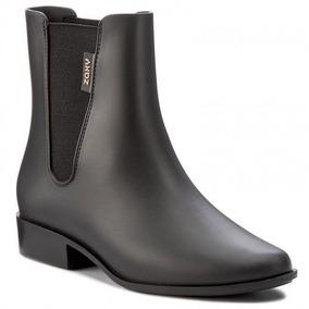 Bota Galocha Cano Curto Zaxy London Boot Ii - Preto
