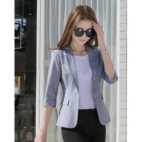 91e5c7968f94 Sacos Blancos Para Mujer Modernos - Ropa, Bolsas y Calzado Azul en ...