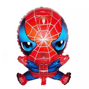 20 Globos Spiderman Hombre Araña 66 Cms.