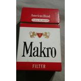 Marquilla De Cigarrillos Makro.