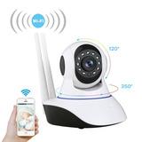 Camara Seguridad Inalambrica Ip Vigilancia Wifi 360 Interior