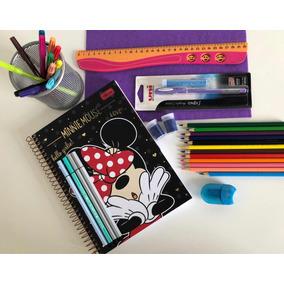 Kit Papelaria Material Escolar - Leia A Descrição