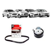 Kit Correia Dentada + Tensor Ford New Fiesta 1.6 16v Sigma