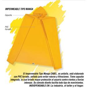 Impermeable Tipo Manga Color Amarillo #cabel #nuevo