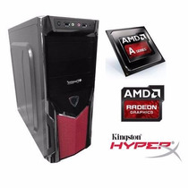 Cpu Gamer Amd Micro Básico Quad Core 4gb - Ati Radeon R3