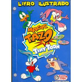 *sll* Álbum Magic Tazo Tiny Toon - Elma Chips - Completo