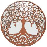 Mandala Árvore Da Vida Em Mdf 60 Cm