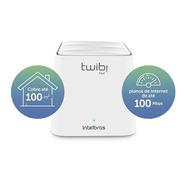 Roteador Wi-fi Mesh Intelbras Twibi Fast Branco Bivolt