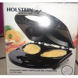 Maquina Para Tortilla Dos Puestos Holstein