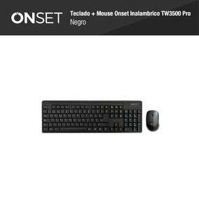 Combo Teclado+mouse Onset Tw3500-pro Inalambrico