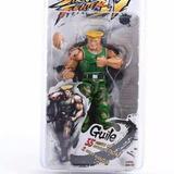 Boneco Street Fighter - Guile - 18 Cm Neca - Negocio Valor