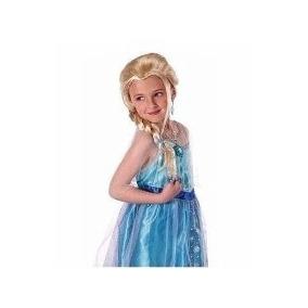 Peluca Disfraz De Elsa Ana Frozen Carnaval Fiesta