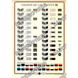 Lamina Grados De Las Waffen Ss Cartulina A Color 30x21