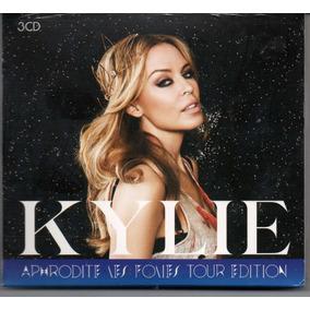 Kylie Minogue Aphrodite Les Folies Tour Edition 3 Cd (triplo