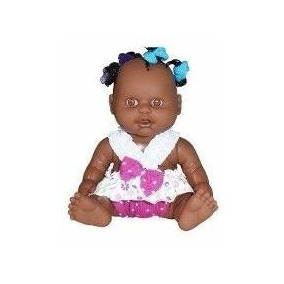Boneca Milkinha Petit Negra