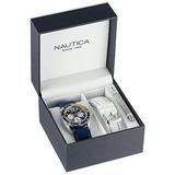 Reloj Nautica N09915g Azul