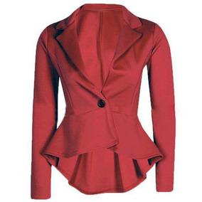 Blazer Feminino Peplum Lindo Elegante Cod#a