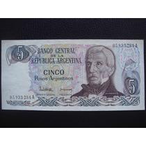Argentina - Billete De 5 Pesos Argentino, Año 1983 - Exc