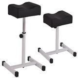 Equipo Del Negro Ajustable Pedicure Manicura Técnico Uñas