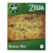 Legend Of Zelda Hyrule Map Rompecabezas 1000 Piezas