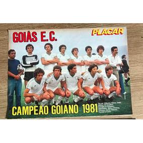 Poster Goias Campeao Goiano 1981 Frete R$ 8