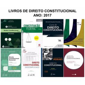 Combo: 8 Livros De Direito Constitucional - Ano 2017