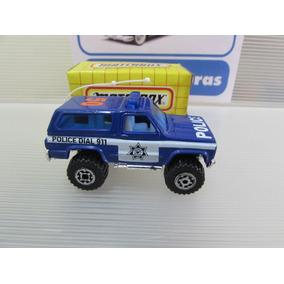 Matchbox Anos 80 / 90 Mb50 Chevy Blazer Police
