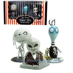 Set 3 Paquetes Tragic Toys Tim Burton Dark Horse Delux 9 Fig