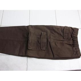 Pantalon De Zara Estilo Cargo Chocolate