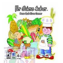 Fer Quiere Saber Para Qué Sirve Comer Cd Rom Interactivo 4+