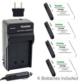 Kastar Battery 4x + Charger For Samsung Bp-70a Bp70a St90 St