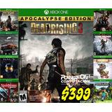Dead Rising 3 Xbox One Fisico Original