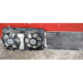 Conjunto Radiador Condensador Ventoinha Honda City 2011 Aut