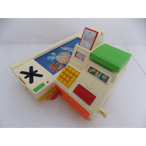 Caja Registradora Vintage Fisher Price