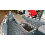 Lancha Alumibarcos Albatroz Super Slx Com 50 Mercury 2 Tempo
