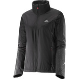 Casaca Femenina Salomon - Escape Jkt W Negro - Hiking