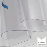 Plástico Transparente Cristal Mesa Capa Costura 1,4 M X 2 M