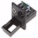 Caixa Bateria 9v Captador Ativo Equalizador Violão Xlr P10