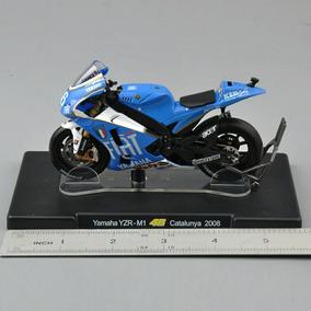 Yamaha Yzr-m1 - Moto Gp 1/18 - Catalunya 2008
