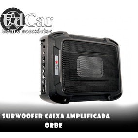 Subwoofer Caixa Amplificada Orbe Auto.