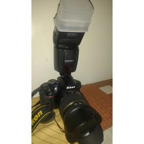 Nikon D3300 +tamron 18-270 + Flash Yougnuo Ttl So 23k Cliks