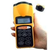 Medidor De Distancia Ultrasonico Con Mira Laser 18 Metros